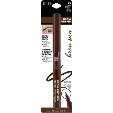 Milani Kulmakynä Brow Tint Pen Dark Brown