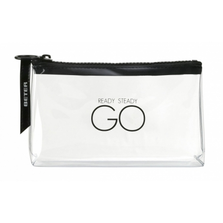 Beter Transperent Medium Bath Bag Go