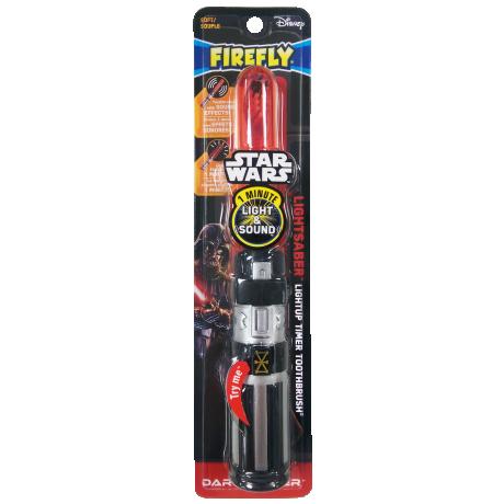 Light-up Toothbrush Lightsaber Star Wars