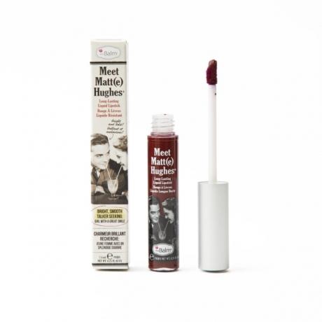 theBalm Meet Matt(e) Hughes Long-Lasting Liquid Lipstick Adoring