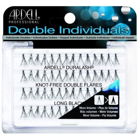 Ardell Knot-Free Double Flares Long Black Пучковые ресницы