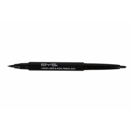 BYS Лайнер и карандаш для глаз Double Ended Liquid Liner & Kohl Pencil Black