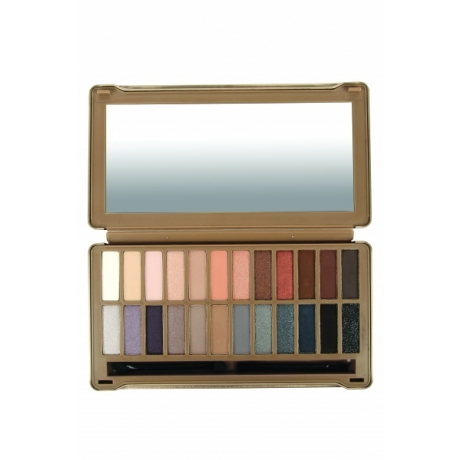 BYS Luomiväripaletti NUDE Exposed 24 Colours