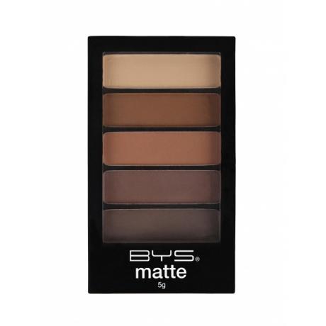BYS Eyeshadow 5 pc Matte DESERT SAFARI