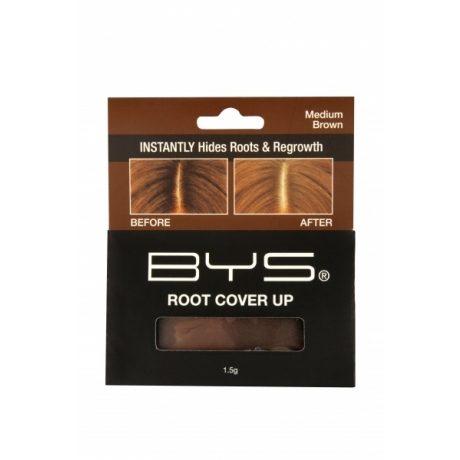 BYS Пудра для волос Root Cover up Brown 1,5г