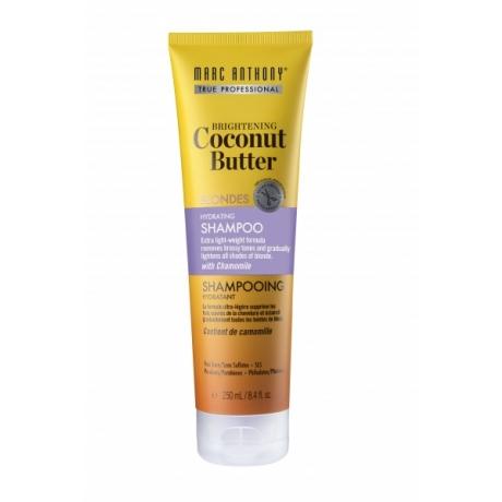 Marc Anthony Brightening Coconut Butter Blondes Hydrating Shampoo šampoon blondidele juustele 250ml