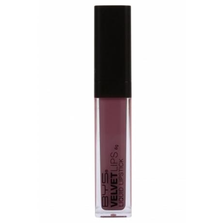 BYS Velvet Liquid Lipstick WICKED PLUM 6 g
