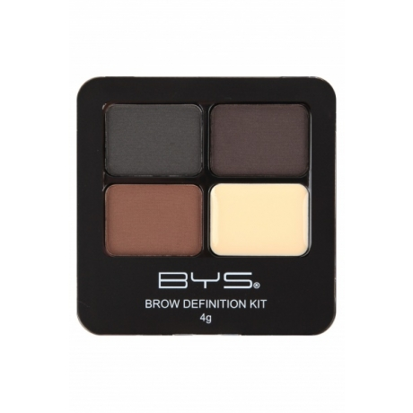BYS Eyebrow Kit with Powder and Wax POW BROWS