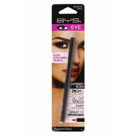 BYS Eyeliner Pencil Supersoft  Black