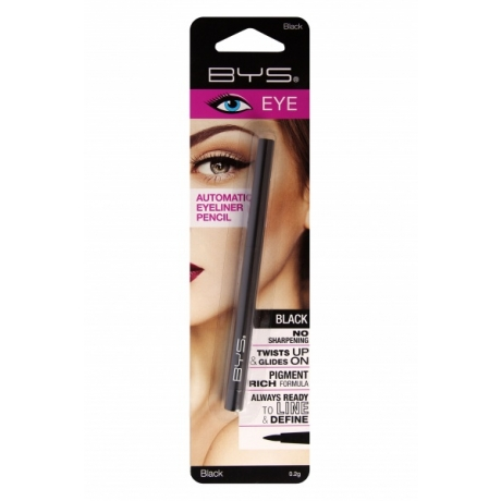 BYS Automatic Eyeliner Pencil Black
