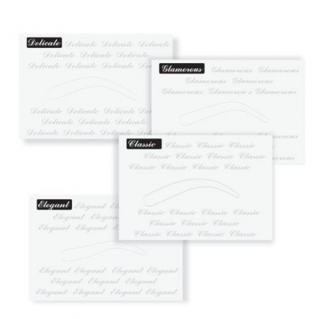 Ardell Brow Perfection Stencils 4pc
