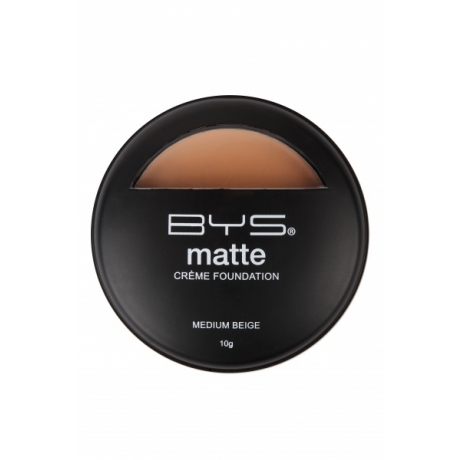 BYS Тональный крем Matte Creme Foundation Medium Beige 10г