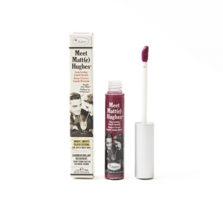 theBalm Meet Matt(e) Hughes Long-Lasting Liquid Lipstick Faithful