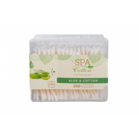 Spa Cotton Vanupuikko Spa Aloe 200kpl