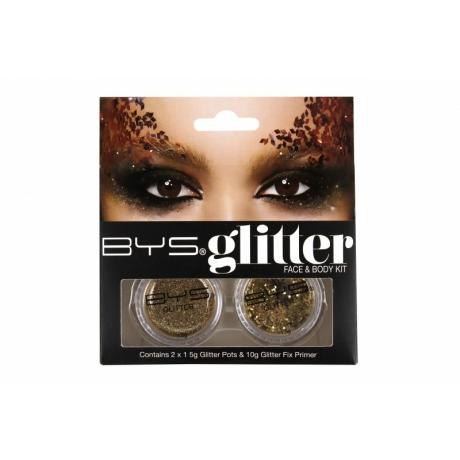 BYS Glitter näole ja kehale GOLD