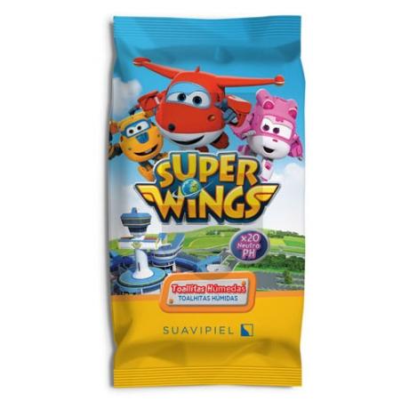 Suavipiel Super Wings Wet Wipes 20pc