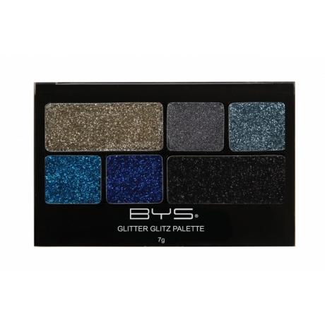 BYS Glitter Glitz 6 pc AZURE BLUE