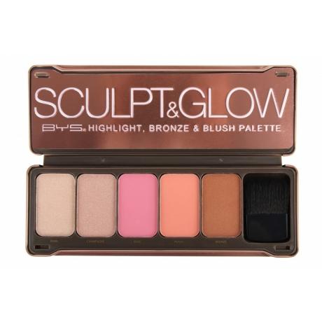 BYS Палетка для макияжа SCULPT & GLOW