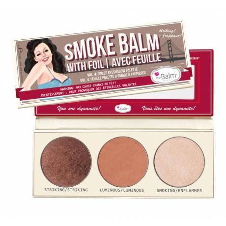 theBalm Luomiväripaletti Smoke Balm Vol. 4 Foiled