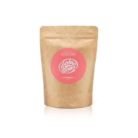 Body Boom kehakoorija Coffee Scrub Strawberry 200g