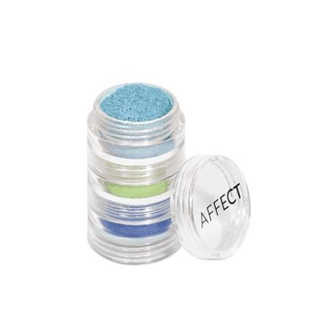 AFFECT Charmy Pigment Loose Eyeshadows Set Pigment lauvärvide komplekt N0004
