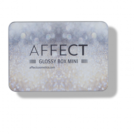 AFFECT Aluminum Palette Glossy Box Mini täidetav magnetiga meigipalett