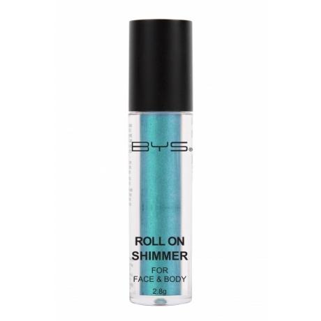 BYS Hohtojauhe kasvoille ja vartalolle Aquamarine Green 2,8 g