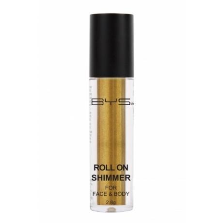 BYS Hohtojauhe kasvoille ja vartalolle Golden Yellow 2,8 g