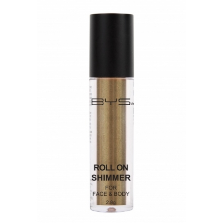 BYS Roll on Shimmer for Face and Body Olive Green