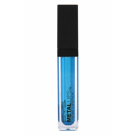 BYS Жидкая губная помада Metal BLUE STEEL