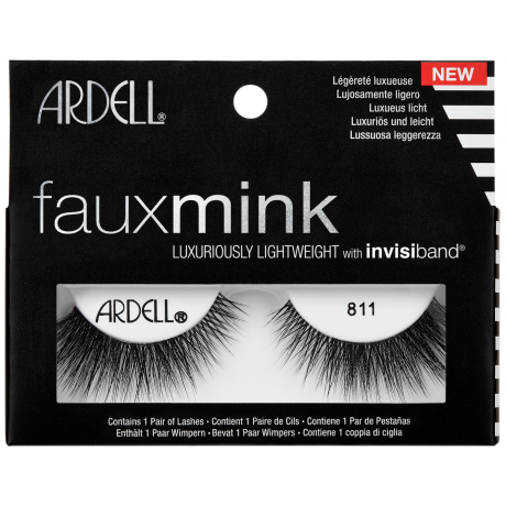 Ardell Faux Mink Eyelashes Knot-Free 811