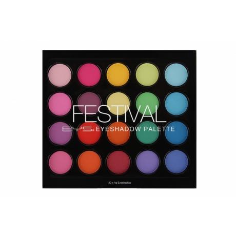 BYS Eyeshadow Palette FESTIVAL
