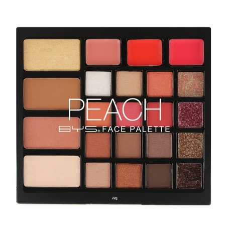BYS Face Palette PEACH  23