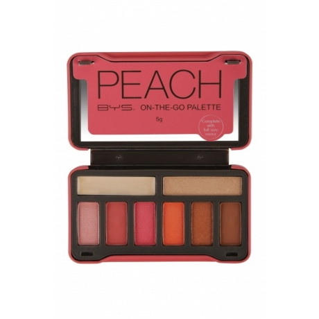 BYS Luomiväripaletti PEACH On The Go
