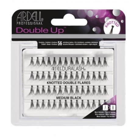 Ardell Double Up Knotted Medium Black Ripsitupsut