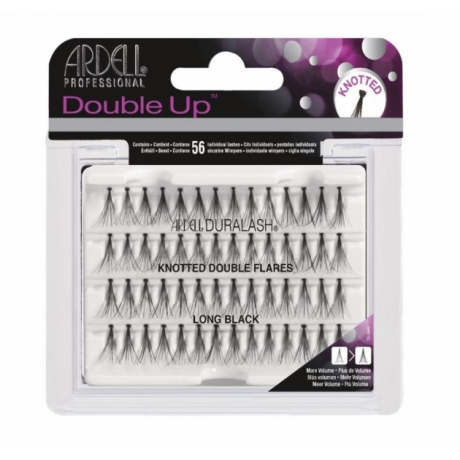 Ardell Double Up Knotted Individuals Long Black