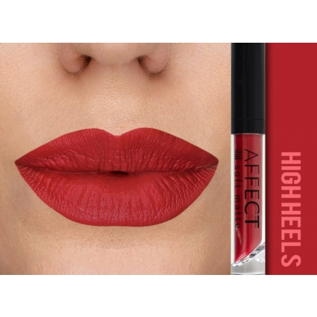 AFFECT Liquid Lipstick Soft Matte High Heels