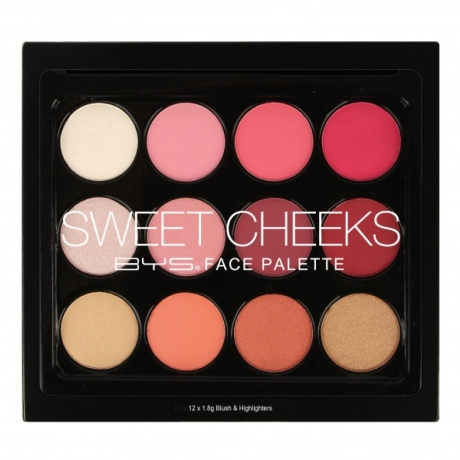 BYS Face Palette SWEET CHEEKS