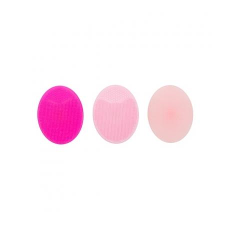 The Vintage Cosmetic Company Silikoni kuorivat tyynyt Pink 3kpl