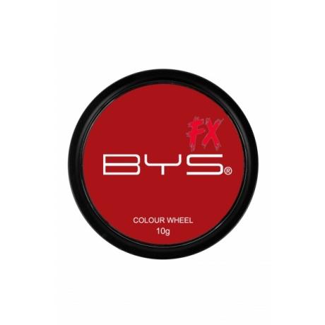 BYS Special Fx Кремовая краска красная Colour Wheel Red 10г