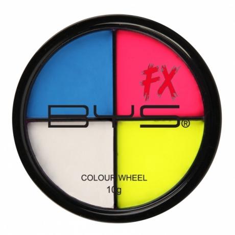 BYS Special Fx Кремовая краска 4цвета Colour Wheel Fluoro 10г