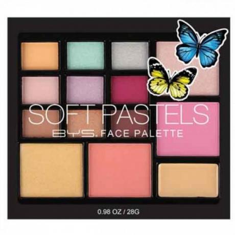BYS Палетка для макияжа SOFT PASTELS