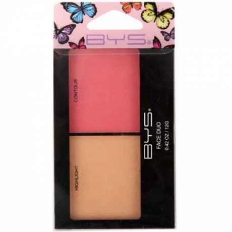 BYS Face Duo Butterfly Collection Highlight and Blush