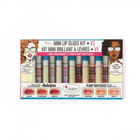 theBalm Lip Gloss Mini Kit Vol.2