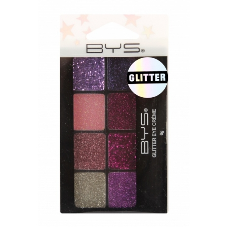 BYS  Glitter Eye Creme 8 pc FAIRY DUST In Hangsell