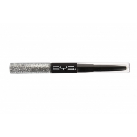 BYS Glitter & Liner Duo Silver