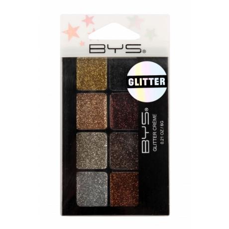 BYS Glitter Eye Creme 8 pc RAZZLE DAZZLE In Hangsel