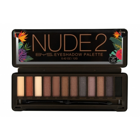 BYS Eyeshadow Palette NUDE 2 Naturals Limited Edition