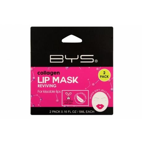 BYS Маска для губ Collagen 2шт