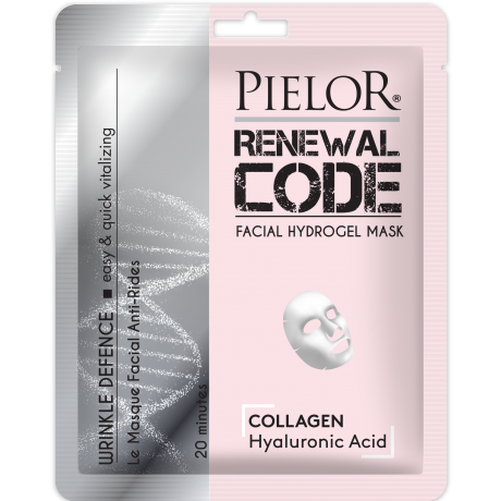 Pielor Renewal Code Facial Sheet Mask Wrinkle Defence 25ml